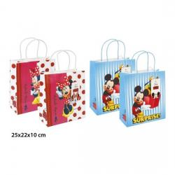 BOLSA REGALO KRAFT, DISNEY, -MICKEY - MINNIE-, M - Imagen 1