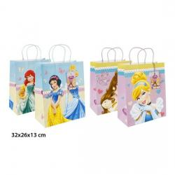 BOLSA REGALO KRAFT, DISNEY, -PRINCESS-, L