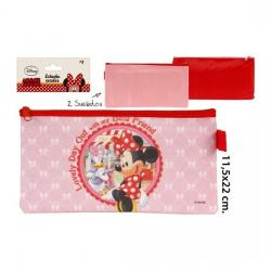Estuche Escolar, DISNEY, -MINNIE-