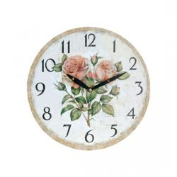 RELOJ DE PARED PROVENCE ROSE