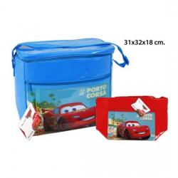 BOLSA NEVERA, AQUAPRO, -CARS-, 31X32X18