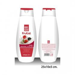 GEL DE BAÑO, NATURAL CARE, -FRUTAS-, 750ML.