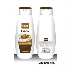 CHAMPÚ, NATURAL CARE, -AVENA-, 750ML.