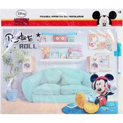 PIZARRA BORRABLE 30X40 C/ROTULADOR MICKEY