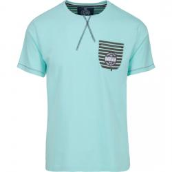 CAMISETA FREESTYLE POCKET - SOFT BLUE - Imagen 1