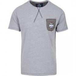 CAMISETA FREESTYLE POCKET - LIGHT GREY MELANGE - Imagen 1