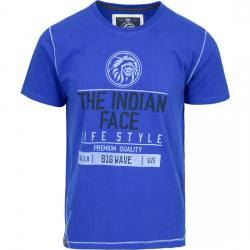 CAMISETA SIZE BIG WAVE - ROYAL BLUE - Imagen 1