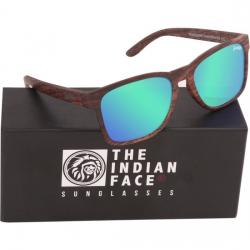 GAFAS DE SOL FREE SPIRIT - BROWN WOODEN