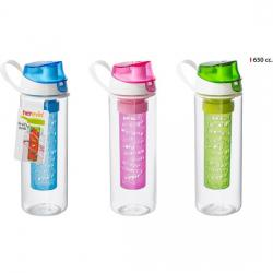 BOTELLA SPORT C/INFUSOR 650ML - COLORES SURTIDOS