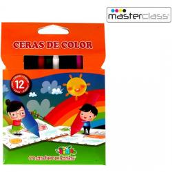 SET 12 UDS CERAS DE COLOR MASTERCLASS