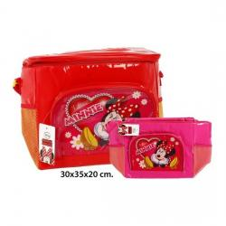 Bolsa Nevera Colores Surtidos, DISNEY, -MINNIE-, 30x35x20cm.