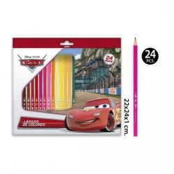 Lapices Colores, DISNEY, -CARS-, 24uds.