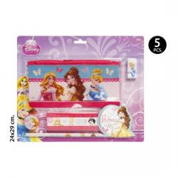 Set Escolar, DISNEY, -PRINCESS-, 5uds.
