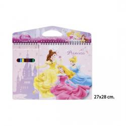 Block Dibujo con Lapices Colorear, DISNEY, -PRINCESS- - Imagen 1