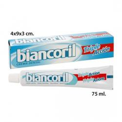 Pasta De Dientes Biancoril Triple Accion Total, BIANCORIL, 75ml. - Imagen 1