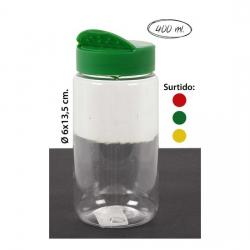 TARRO TAPA DOBLE ESPECIERO SURTIDO COLORES, WAT, 400ML.