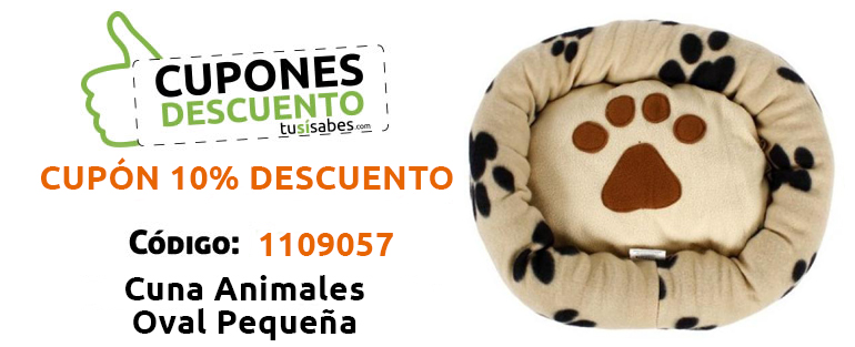 Cuna Animales Oval Pequeña