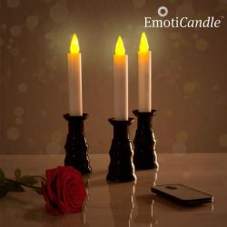 Velas LED Romantic Ambiance EmotiCandle (pack de 3)