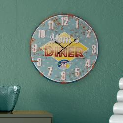 Reloj de Pared Mom's Diner