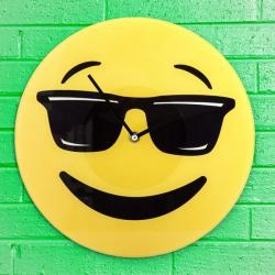 Reloj de Pared Emoticono Cool