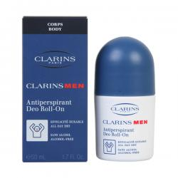 Clarins - MEN antiperspirant deo roll-on 50 ml - Imagen 1