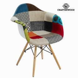Silla pp patchwork by Craftenwood - Imagen 1