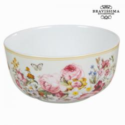 Bol porcelana bloom white - Colección Kitchen's Deco by Bravissima Kitchen - Imagen 1
