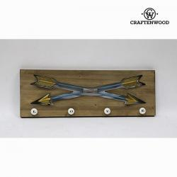 Percha de pared  flechas by Craftenwood