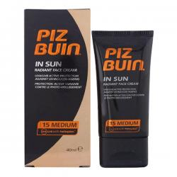 Piz Buin - PIZ BUIN IN SUN radiant face cream SPF15 40 ml - Imagen 1