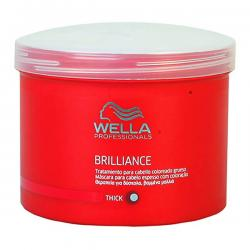 Wella - BRILLIANCE mask coarse hair 500 ml